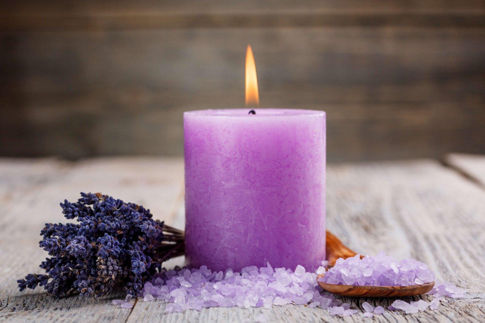 Como usar as velas perfumadas no dia a dia